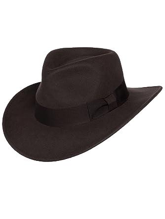 Men s Indiana Outback Fedora Hat  6fb90b37175f