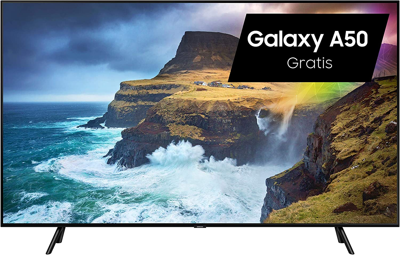 Samsung GQ55Q70RGTXZG 138 cm (55 Pulgadas) TV Plana/Flat QLED Q70R (2019): Amazon.es: Electrónica