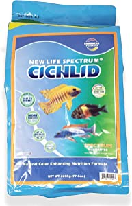 New Life Spectrum Naturox Cichlid Formula for Freshwater Fish Bag 2200g