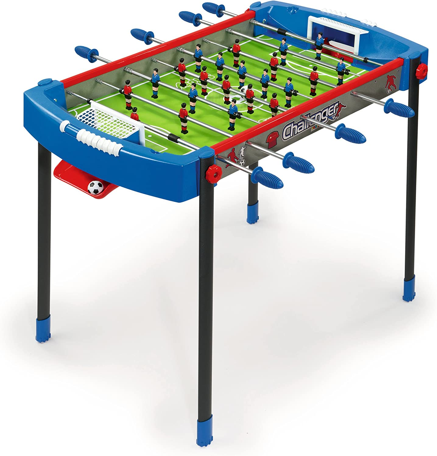 Smoby - Futbolín Challenger, Color Azul (620200): Amazon.es ...