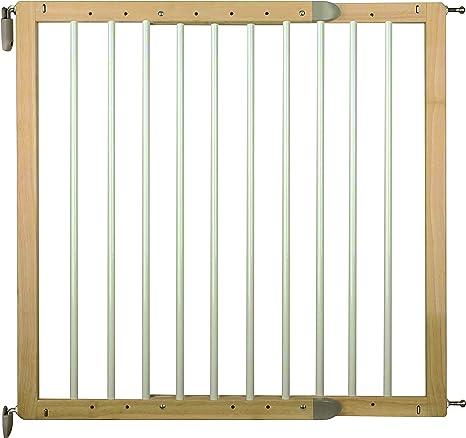 nordlinger Pro 800011 Barrera de seguridad giratoria en madera: Amazon.es: Bebé
