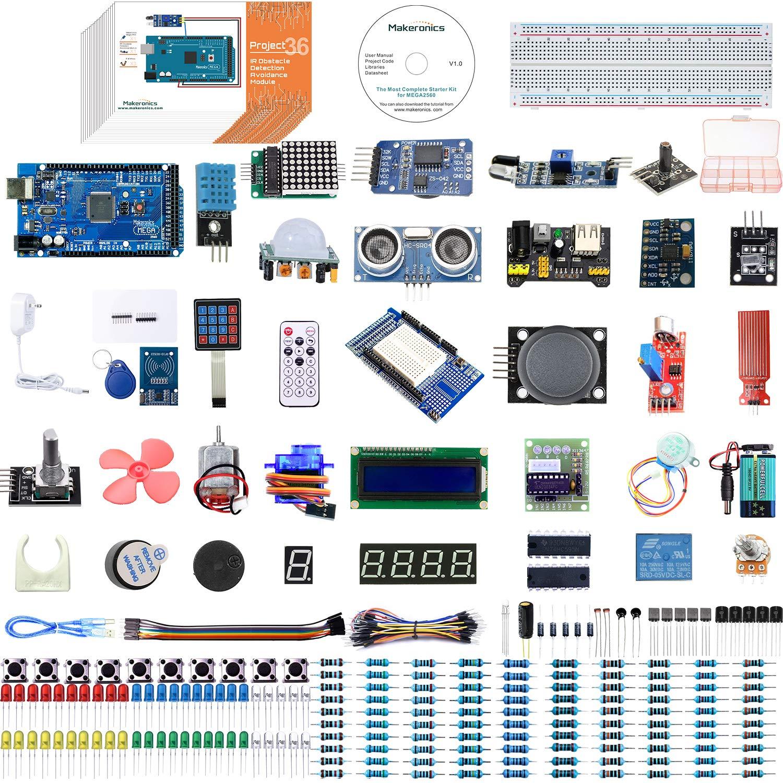 Arduino Mega 2560 Kit MAKERONICS (7MQKCM78)