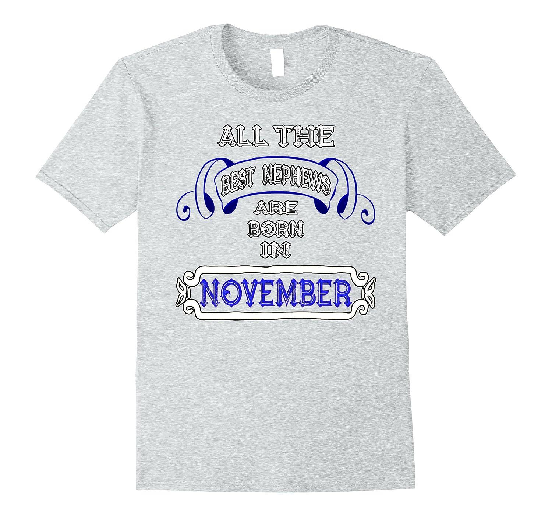 November Birthday Shirts For Men