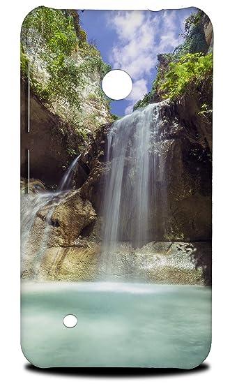 Amazon com: Waterfall River Lake 17 Hard Phone Case Cover