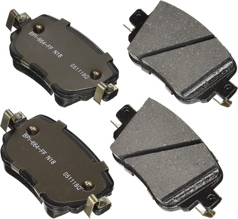 Disc Brake Pad Set-R-Line; Ceramic Front Raybestos MGD2173CH