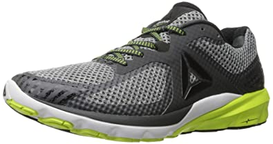 d2a4b8d8c672 Reebok Men s OSR Harmony Road Running Shoe Solid Grey Black White Solar  Yellow