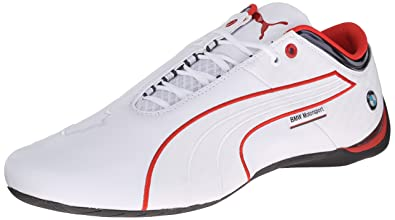 2869a819b17 PUMA Men s BMWMSFUTURECATM1-M White High Risk Red 13 ...