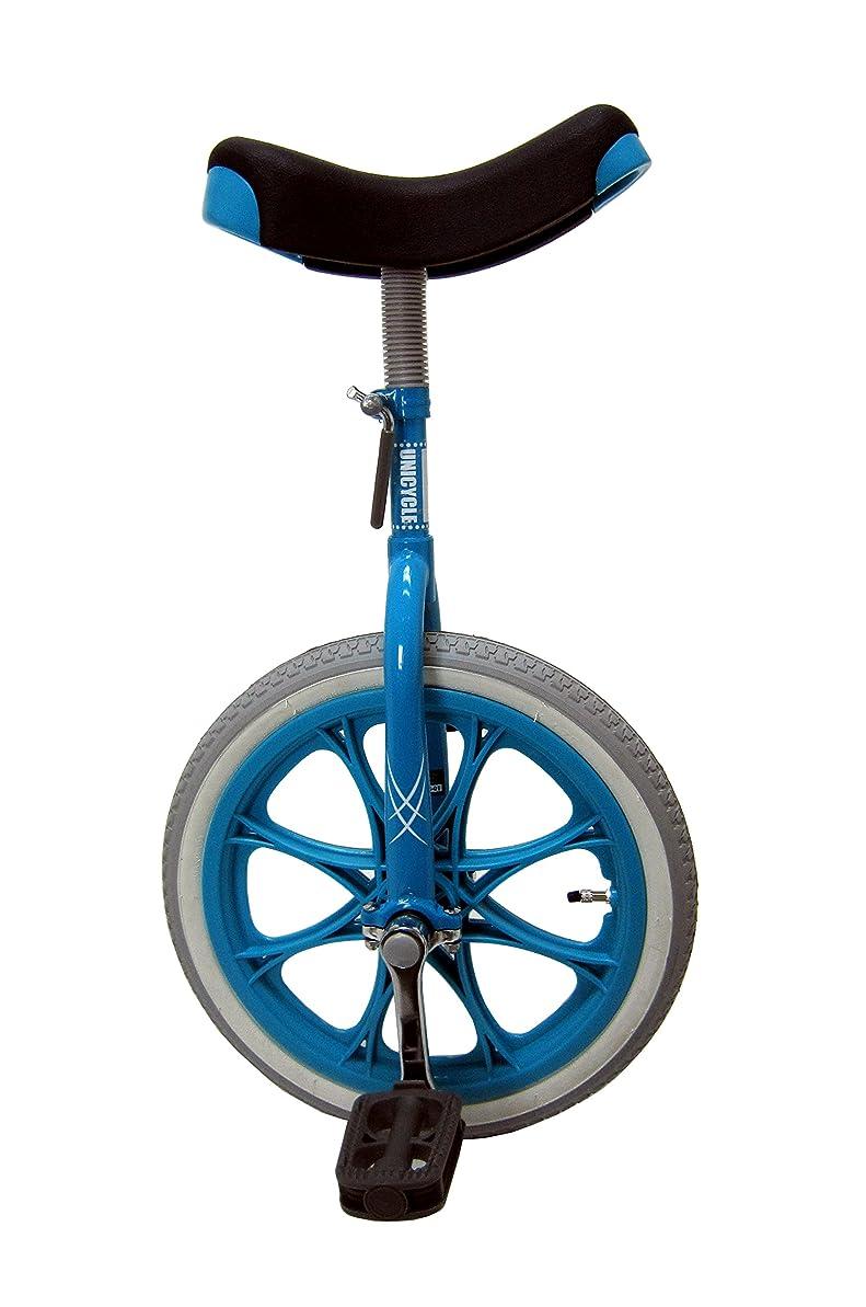 スポット評価する見える一輪車 ユニサイクル プレゼント MYSオリジナルモデル【MYS20BL】コズミックブルー 20インチ 日本一輪車協会認定 ベルマーク参加商品