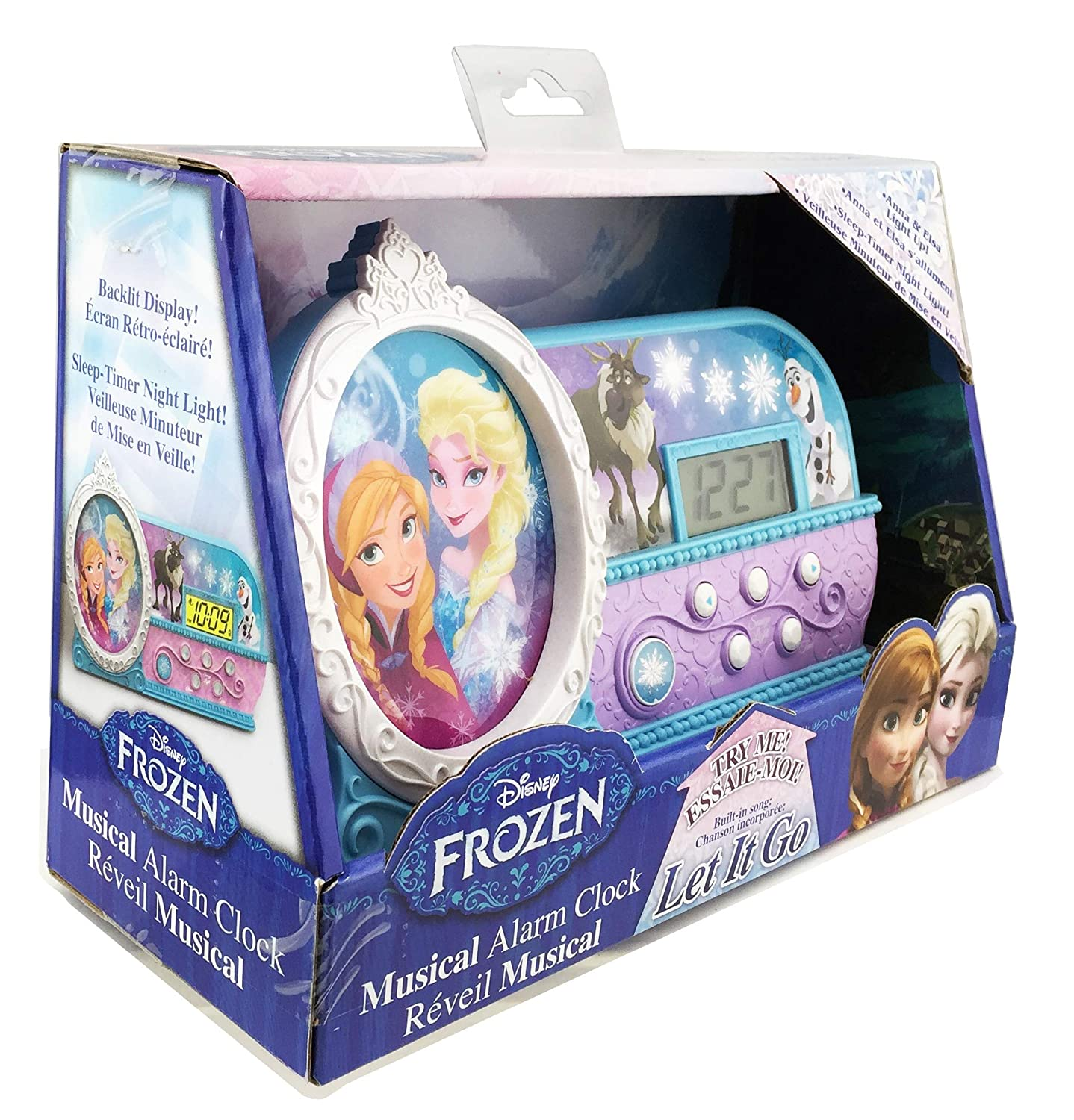 KIDdesigns Frozen Night Glow Alarm Clock Discontinued by Manufacturer