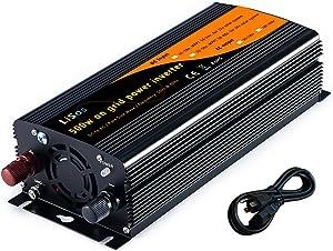 LiSos 500w Solar Grid Tie Power Inverter Pure Sine Wave DC11-28v to AC90-130v V1