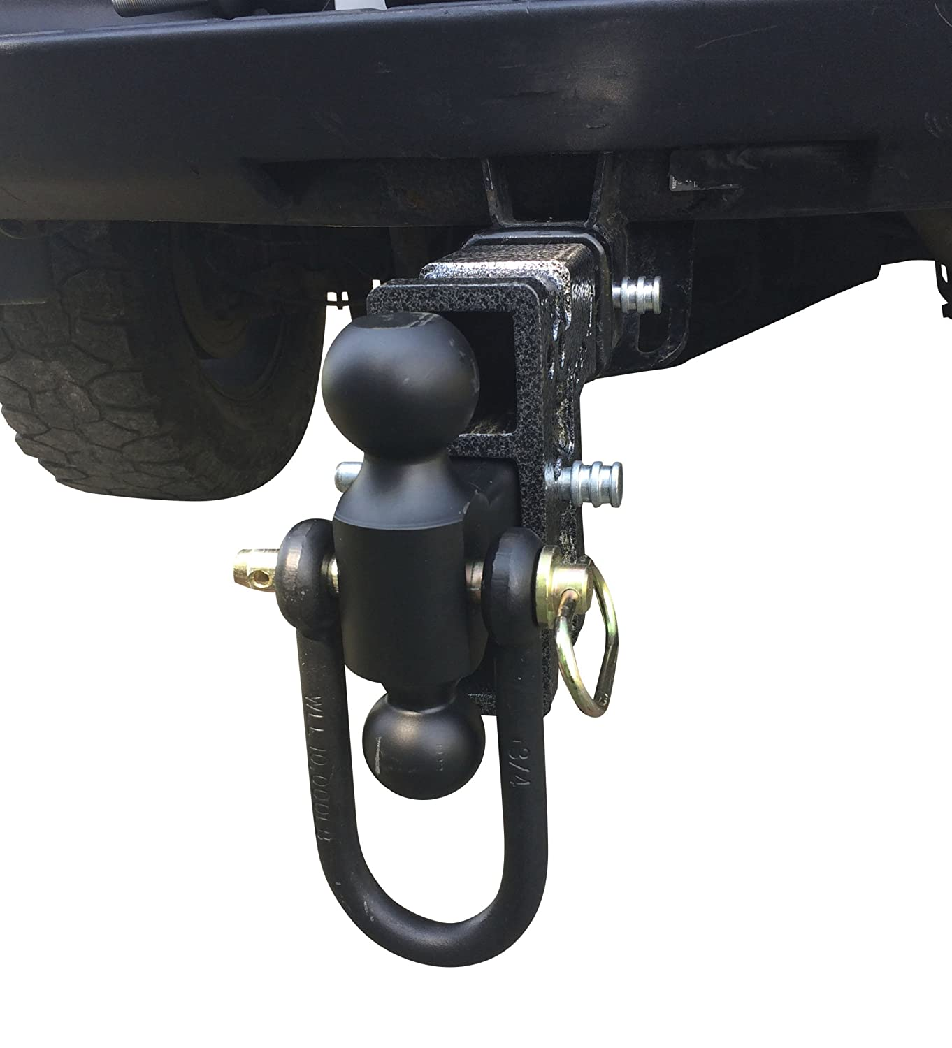 Drop Hitch 2.5 Receiver Class V 21K Towing Hitch GH 626 Pintle Lock /& 2 Hitch Combo Includes Dual Hitch Ball 15 DROP 2.5