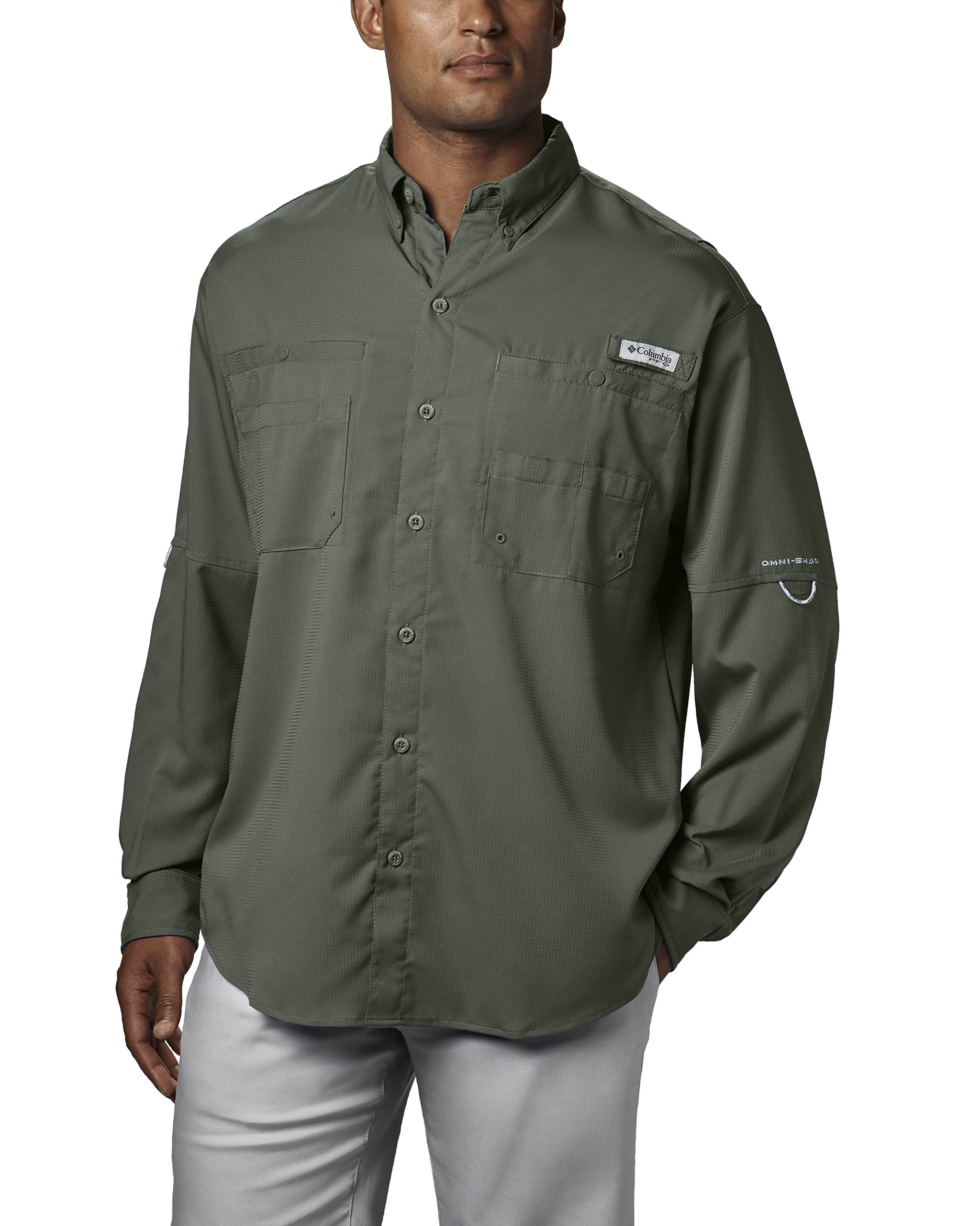 8b681774c73 Columbia Men's Plus Tamiami II Long Sleeve Shirt, Cypress - XX-Large |  Amazon 智慧估價| 得利購DirectGo - 海運,空運,美國代購美國代買
