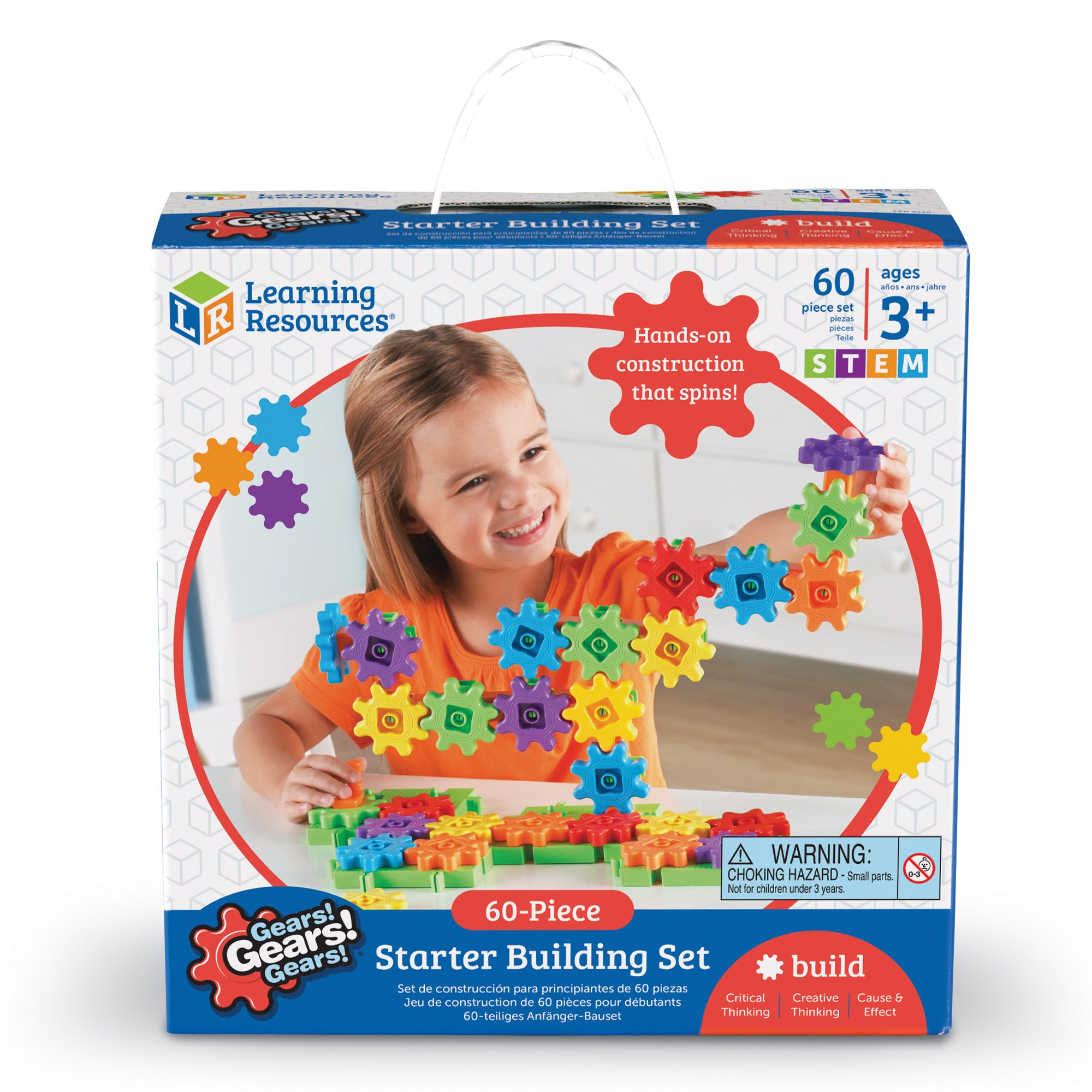 Learning Resources Gears! Gears! Gears! Starter Building Set, 60 Pieces by Learning Resources (Image #3)
