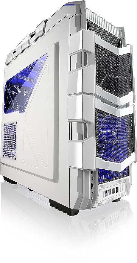 Azza XT 1 W Torre completa Juegos casos, blanco csaz- XT1 W