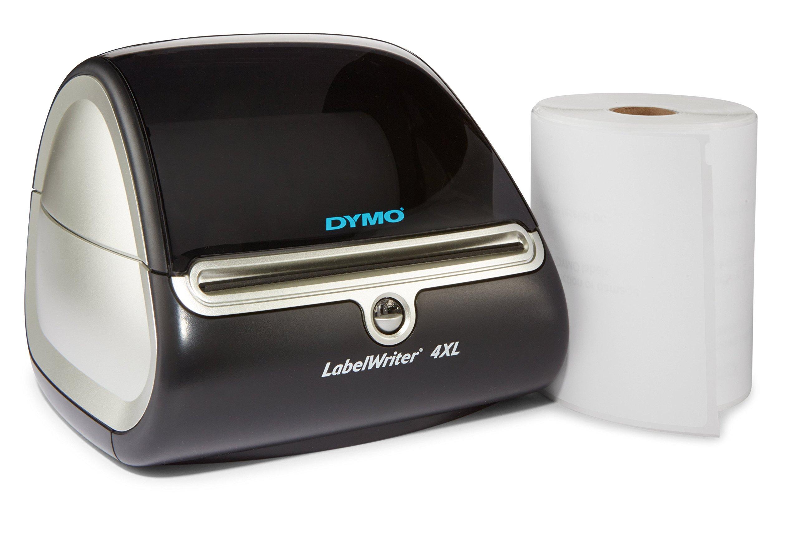 DYMO LabelWriter 4XL Thermal Label Printer (1755120) plus 1 bonus Shipping Roll 1755120 by DYMO