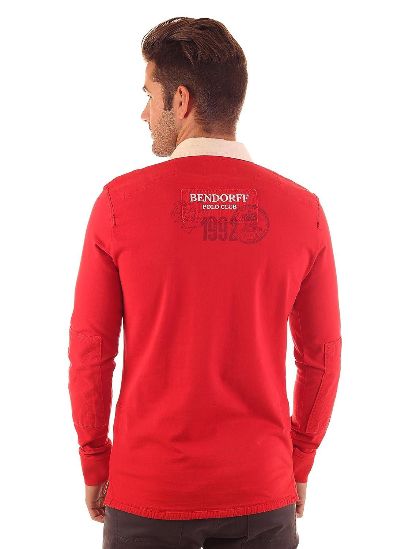 Bendorff Polo Rojo M: Amazon.es: Ropa y accesorios