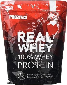 Prozis Natural Real Whey Protein, Proteina en polvo, enriquecido con BCAA para Crecimiento Muscular y Recuperación, óptimo para culturismo, Plátano - ...