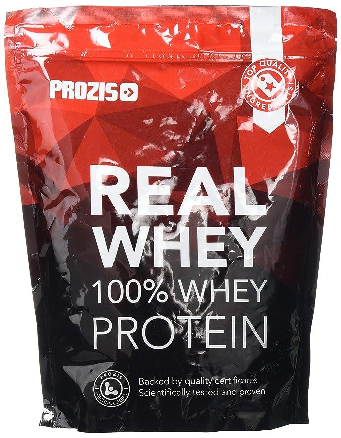 Prozis 100% Pure Real Whey Protein Powder - Suplemento de Vainilla Enriquecido con BCAAs para un Máximo Crecimiento Muscular y Recuperación- 1kg: Amazon.es: ...