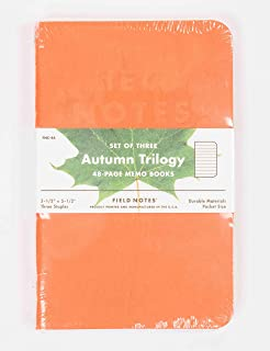 product image for Field Notes: Autumn Trilogy - 3 Pack - Ruled Memo Books, 3.5 x 5.5 Inch