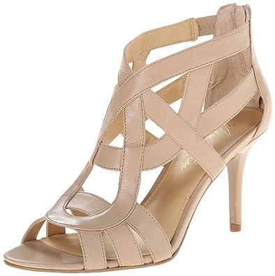 fe3018c22a Marc Fisher Women's Nala3 Dress Sandals, Tan, Size 7.5 US/5.5 UK US