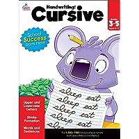 Carson Dellosa | Cursive Handwriting Activity Workbook | 3rd–5th Grade, 80pgs