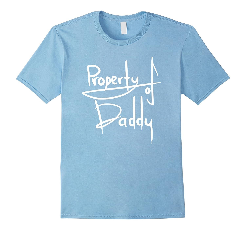 Property of Daddy Shirt BDSM T-Shirt Little Girl Kitten Sub-BN