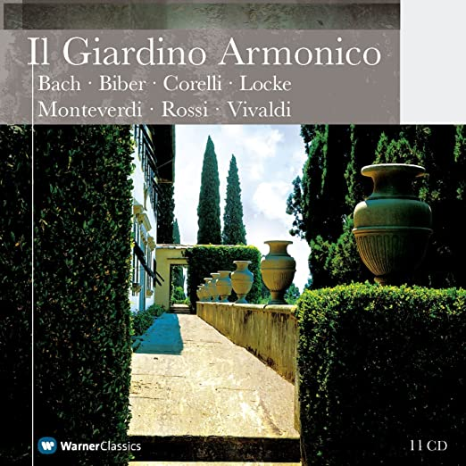 Casette Giardino Design.The Collected Recordings Of Il Giardino Armonico