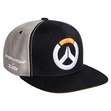 JINX X Overwatch Collab - Gorra de béisbol, Color Negro y Gris ...