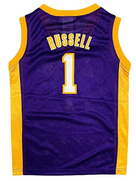 Amazon.com: DAngelo Russell Los Angeles Lakers #1 ...