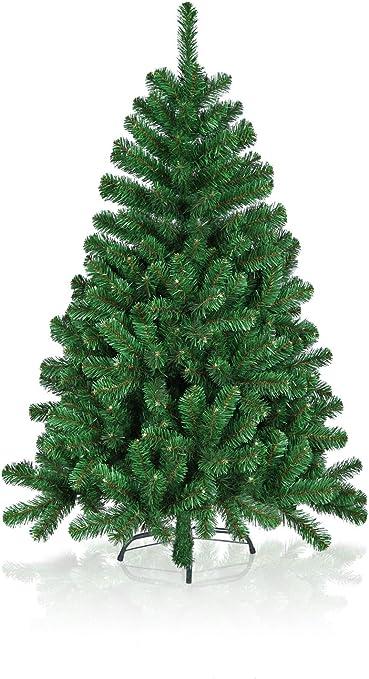 HISKØL arbre de Noël artificiel vert sapin réveillon x-mas plastique 120cm