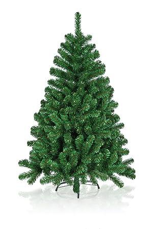 hiskl rbol de navidad artificial alto 180 cm verde
