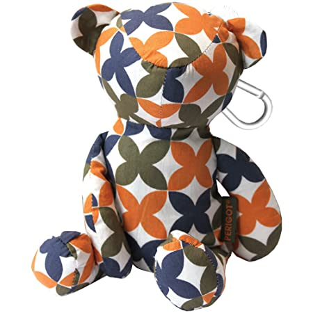 37b974f073f PERIGOT CUSP092 Clover Bear Bag Shopper Medium  Amazon.co.uk  Kitchen   Home