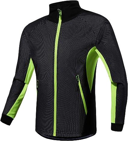 Cycling Jacket Men/'s Winter Bike Clothing Windproof Waterproof Sports Coat