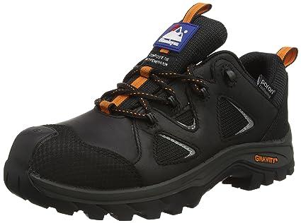 HimalayanGravity Waterproof, Zapatos de Seguridad Adultos, Negro (Schwarz), 46 EU (