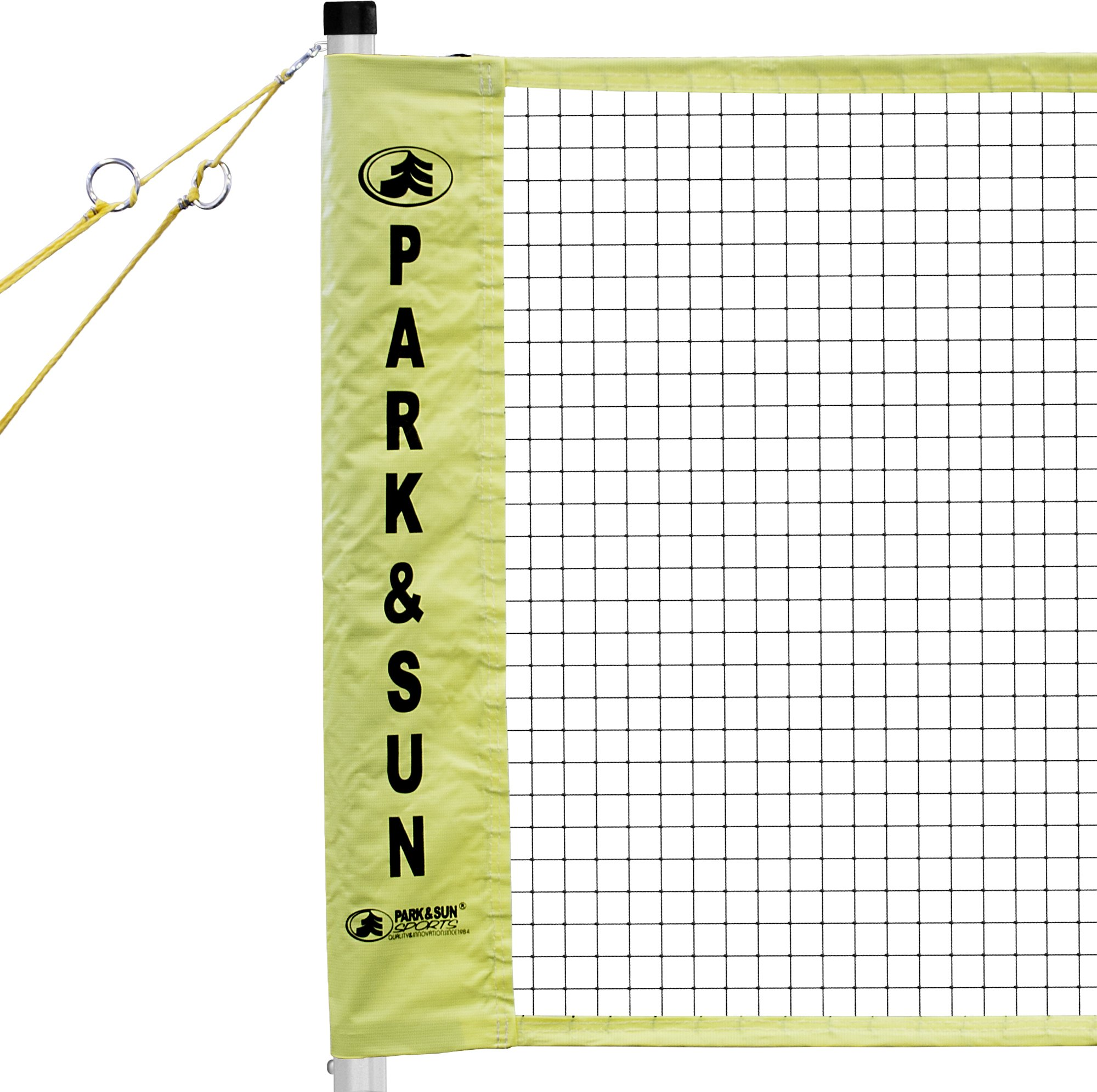 Park & Sun Sports Portable Indoor/Outdoor Badminton Net System with Carrying Bag and Accessories: Tournament Series by Park & Sun Sports (Image #2)