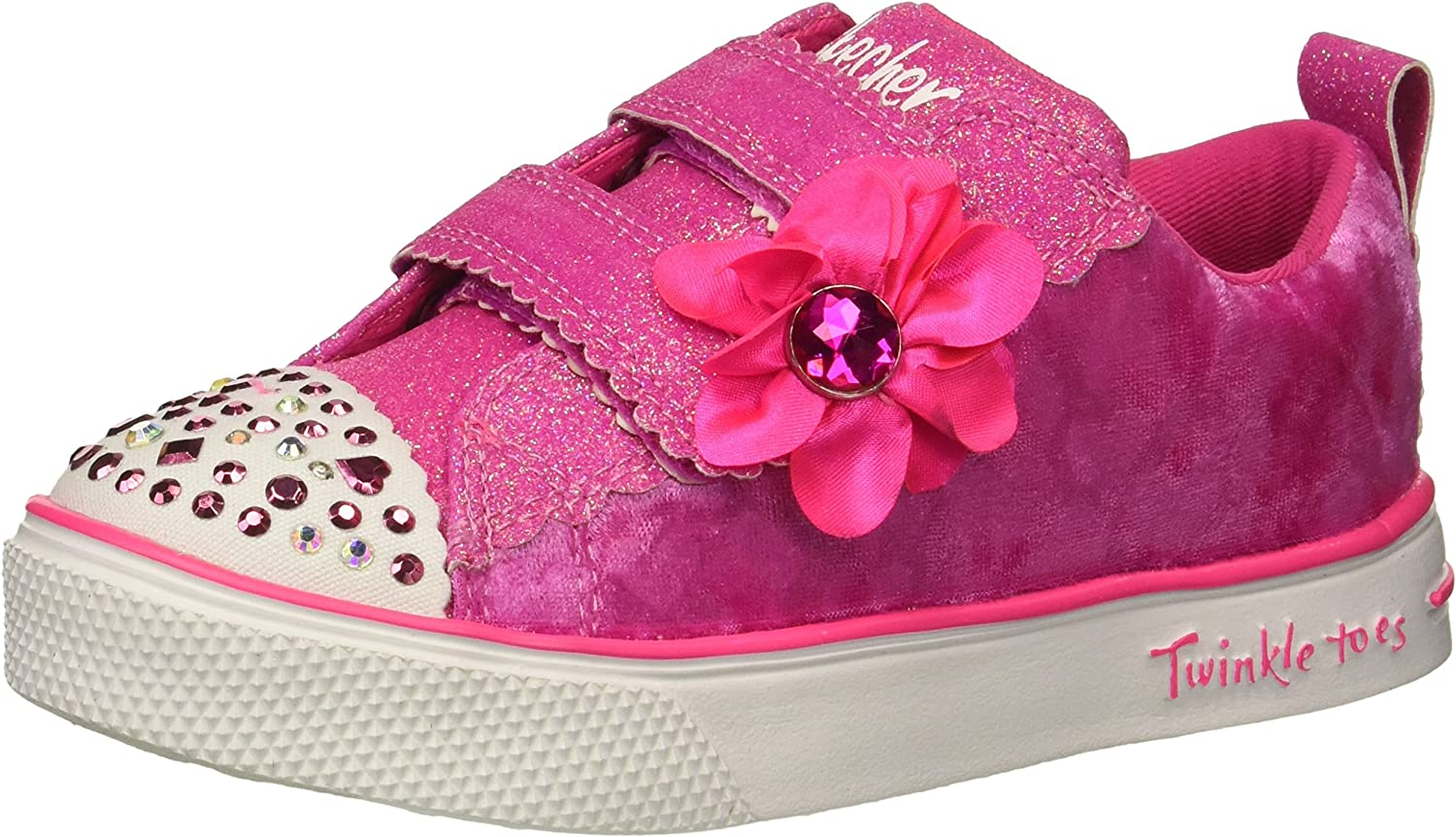 Skechers Kids Twinkle Breeze 2.0-Velvet Cut Sneaker