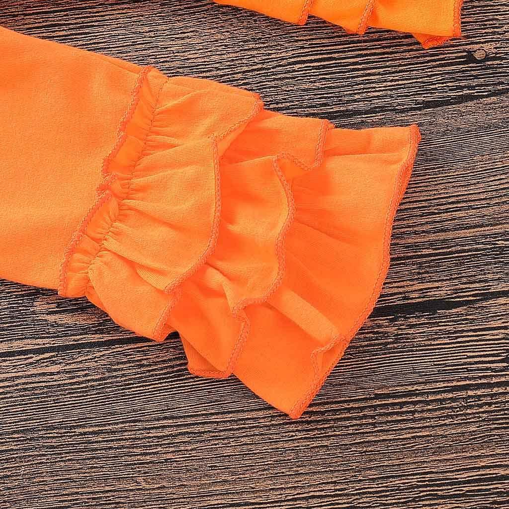 Robemon❤️Toddler Enfant B/éb/é Filles Cartoon Fox Print Tops Dress Ruched Pantalons Outfits Ensembles de Fille