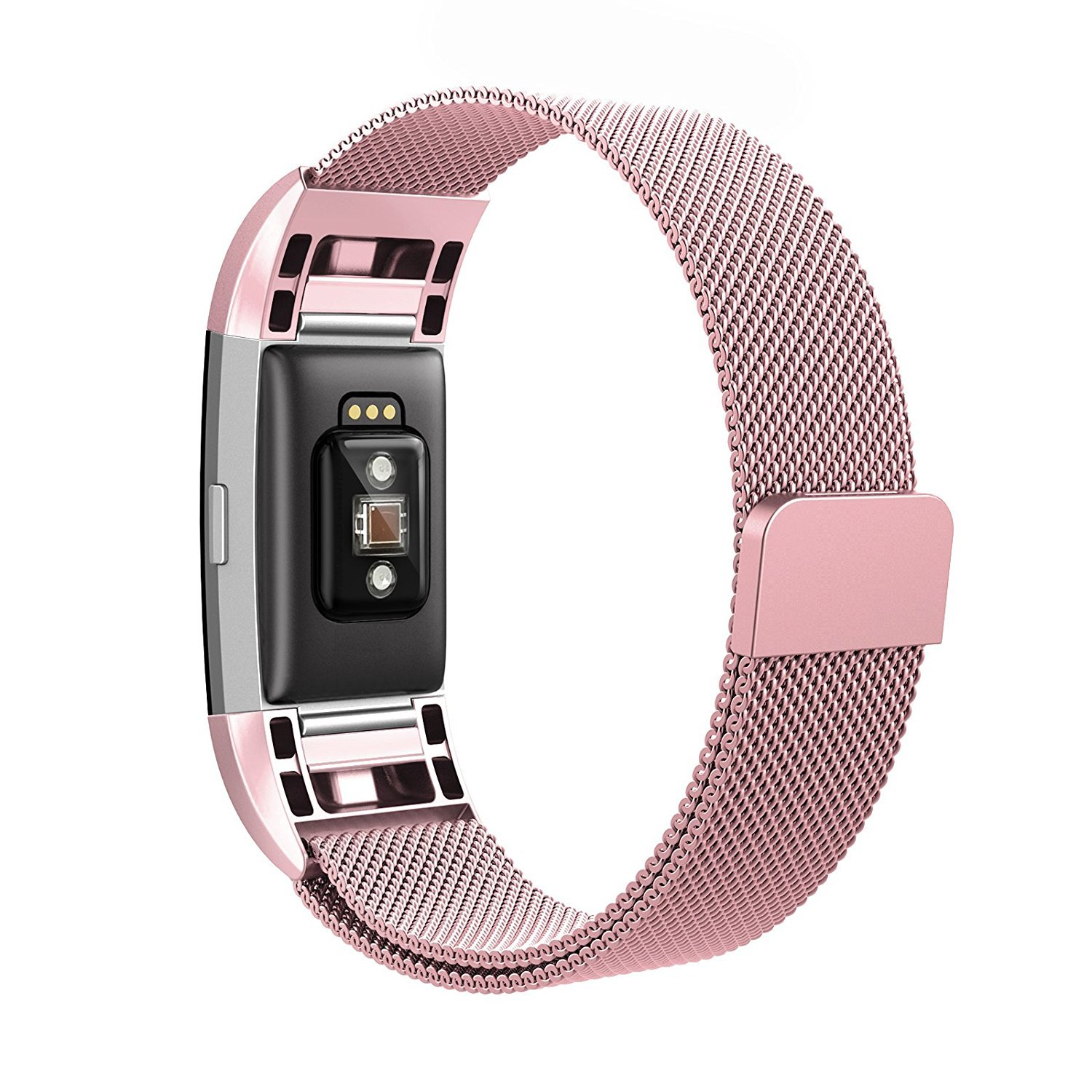 Colorful 5.5-9.9 Black TenYun Fitbit Charge 2 Bands Metal,Milanese Loop Stainless Steel Replacement Accessories Magnetic Metal Small /& Large Bands Gold Rose Gold Silver for Fitbit Charge 2