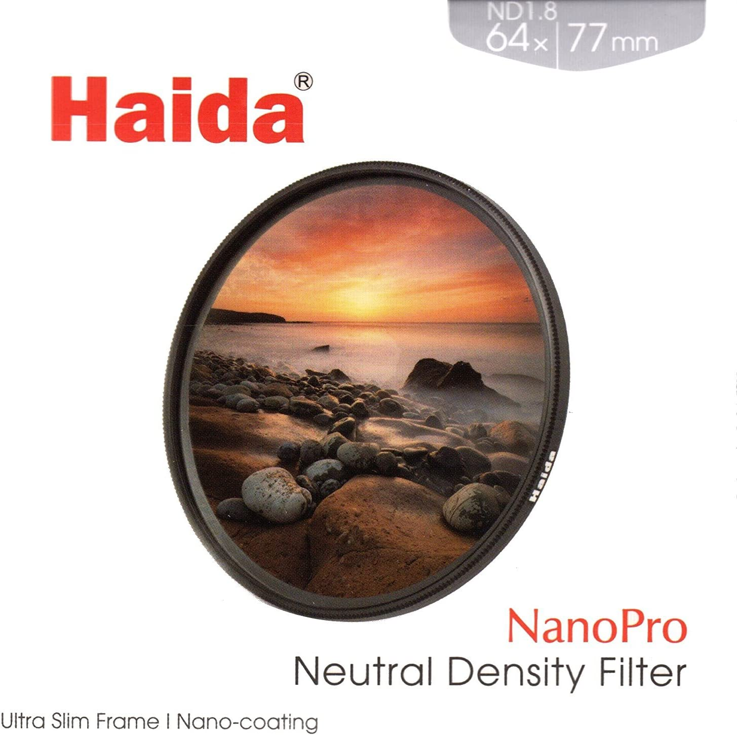 Haida 67mm Slim PROII Neutral Density Multi-Coated ND 1.8 64x Filter