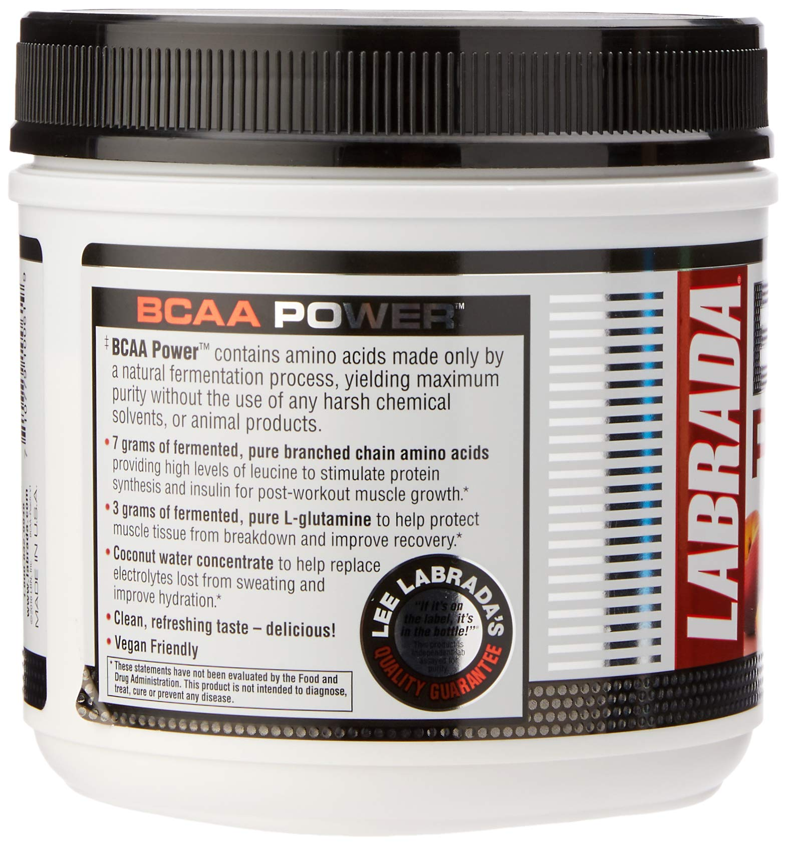 Labrada Nutrition BCAA Power Post Workout Supplement, Cherry Limeade, 417 Gram by Labrada (Image #4)