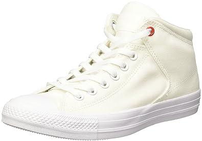 8b677ada3ef02 Converse Chucks White 153770 CT AS High Street White  Amazon.co.uk ...