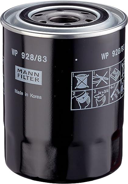 Mann Filter WP 928//83 Filtro de Aceite