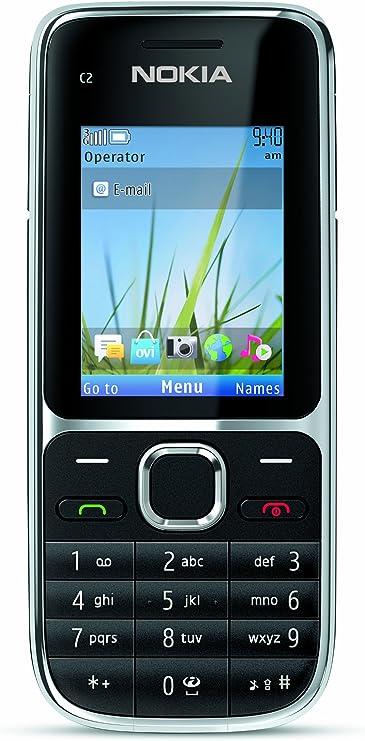 Nokia C2-01 Negro - Smartphone (5,08 cm (2