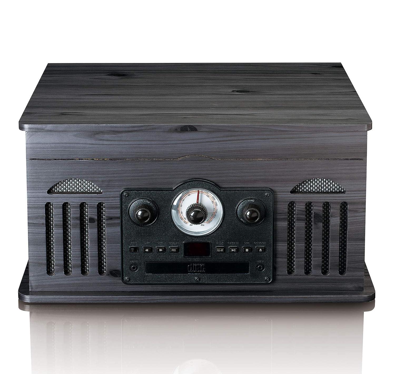 Tocadiscos LENCO TCD-2600BK Color Negro PC Encoding, Radio ...