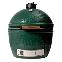 Big Green Egg XLarge 61cm Keramikgrill XXL Keramik grün Ceramic Smoker Garten ✔ Deckel ✔ oval ✔ Grillen mit Holzkohle