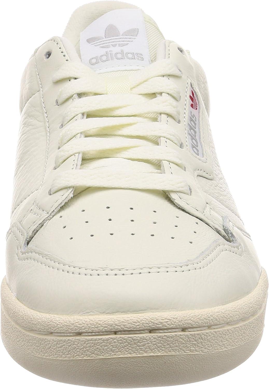 adidas Herren Continental 80 Fitnessschuhe, weiß, Unknown Weiß Tinbla Casbla Escarl 000