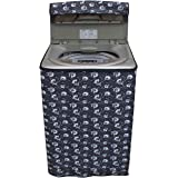 Glassiano Floral Grey Washing Machine Cover for IFB TL RDW Aqua Fully Automatic Top Load 6.5 Kg Washing Machine