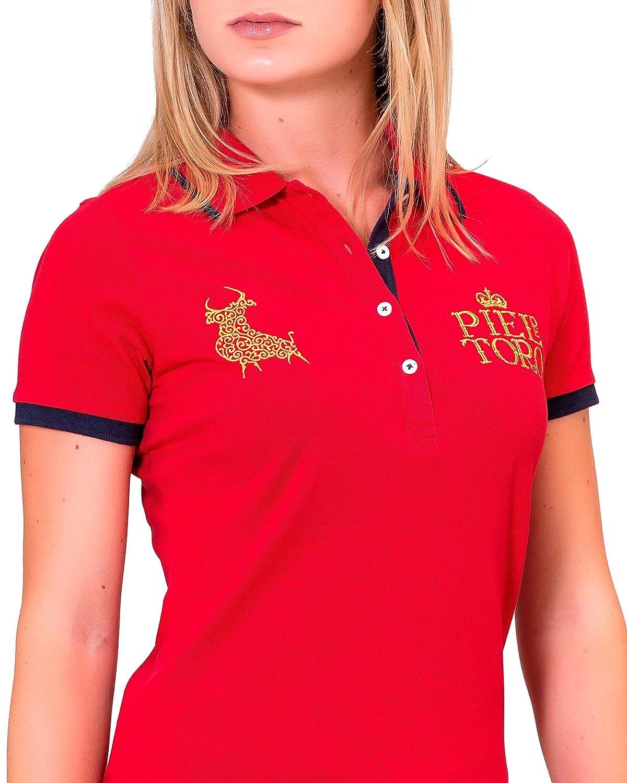 Piel de Toro 41132531 Polo, (Rojo 22), Medium (Tamaño del ...