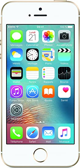 Apple iPhone SE - Smartphone de 4 (12 MP, Chip A9, iOS 10), Color Dorado: Amazon.es: Electrónica