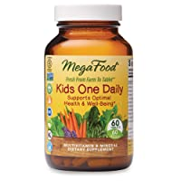 MegaFood, Kids One Daily, Daily Multivitamin and Mineral Dietary Supplement with...
